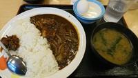 【新発売】角切りビーフたっぷりのビーフカレーライス 2017/03/11 12:07:37