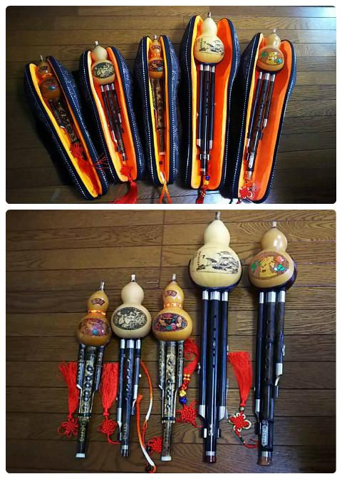 瓢箪笛フルスのF調を新たに購入しました。