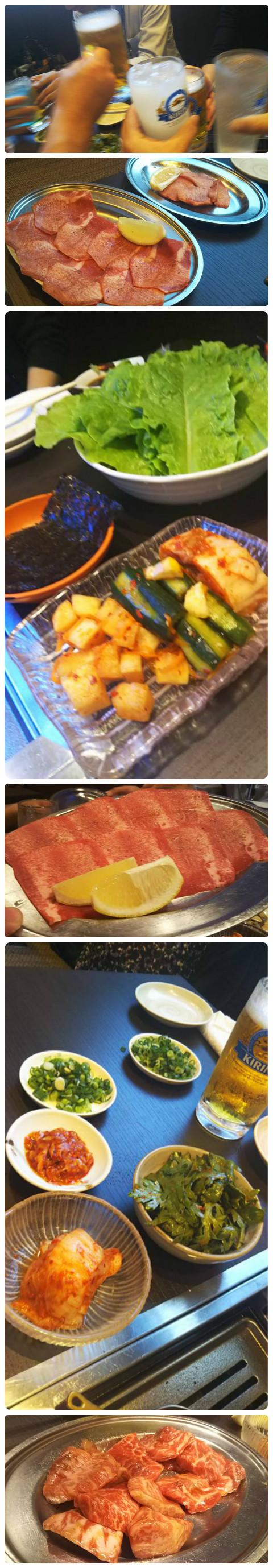 焼き肉『宝城園』さんで美味しいお肉をたらふく食べて、幸せな気分に❤