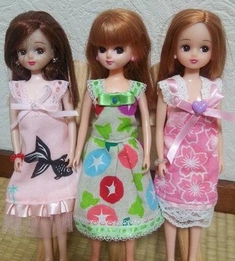 リカちゃん人形の夏服♡