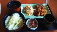 和食さと でお昼の日替をランチ~安い!
