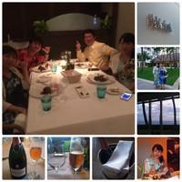 ハワイ旅行(4月8日~15日)13日  ハレクラニの「オーキッズ」 ディナー
