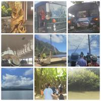 ハワイ旅行(4月8日~15日)13日 クアロア牧場・クルーズと古代養魚地&ガーデンツアー
