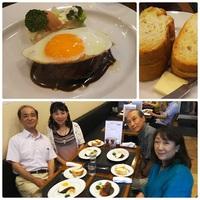 洋食グリル天平(Grill Tenpei) de 『姫路肉汁ハンバーグ』ランチ