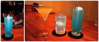 Bar Hizuk i ☆ 水色のカクテル