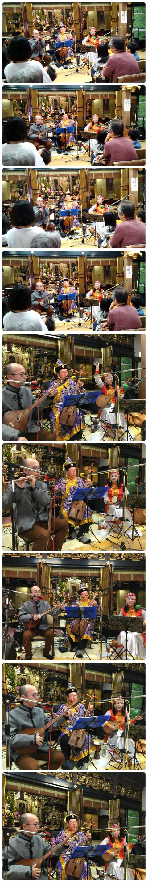 矢野町音楽祭 『おてらdeらいぶ』に『チーム・シルクロード』で出演‼