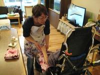 「岡山にてアロマボランティア」