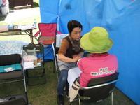 「勝央町 健康づくり フェスティバル」にて