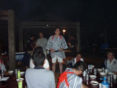 淡路島まつりおどり大会 懇親会
