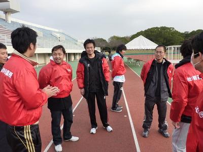 明石親子マラソン2010 開会前編