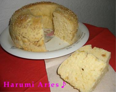 さつま芋のオレンジパン