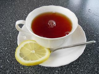 山帰来☆カルボナーラ&紅茶