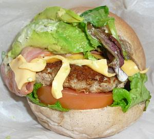 播磨のご当地バーガー「たつのバーガー」