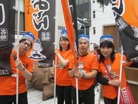神戸祭りパレードに参加しました(姫路おでん応援隊)