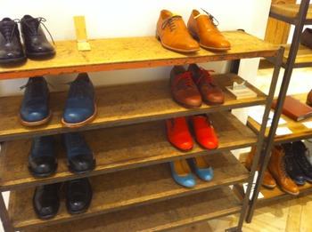 靴の展示会