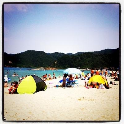 海水浴@竹野浜