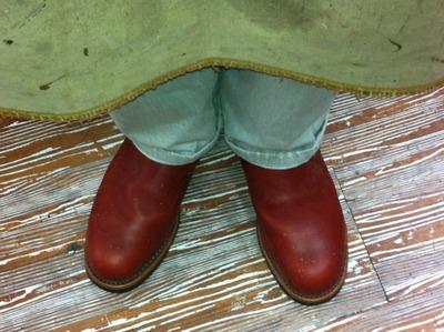 Newブーツ初履き