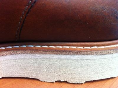Vintage875×ストームウェルト+スクエアステッチ縫い
