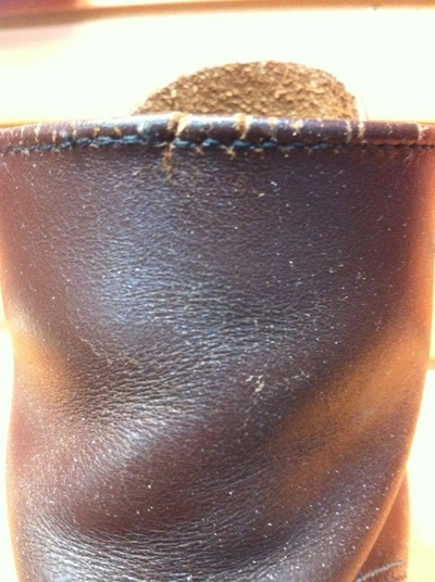 8160×Vibram#705‐ストレートヒール+履き口縫い