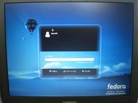 無料OS(Fedora)をインストール・・・