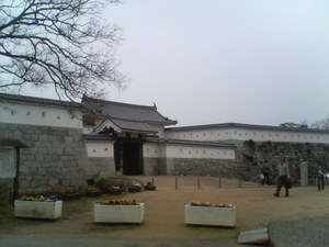 赤穂城大手門