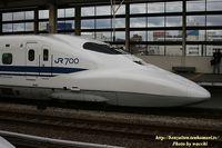 新幹線700系(のぞみ16両編成)