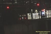 さよならブルートレイン☆はやぶさ・富士(姫路駅)