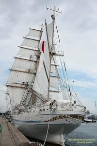 海王丸セイルドリル(その弐)☆姫路港50周年