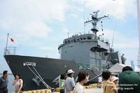 海上自衛隊多用途支援艦『げんかい』寄港☆姫路港50周年