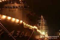 海上自衛隊支援艦『げんかい』イルミネーション☆姫路港50周年