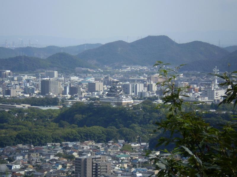 八丈岩山から姫路城
