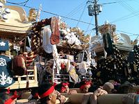濱の宮天満宮秋季例大祭、宵宮