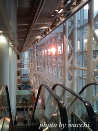 イーグレからの夕陽