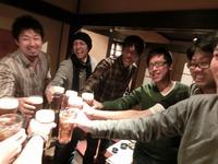 caucau忘年会2013&本日のテニス練習(浜田テニスコート)