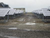 太陽光発電所運転開始