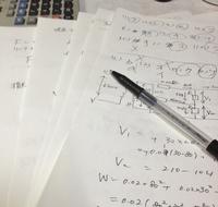 勉強の必需品は白い用紙とボールペン