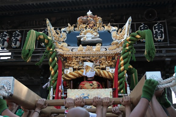 『木場』屋台~松原八幡神社~