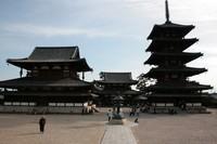 法隆寺(西院伽藍)~世界遺産~