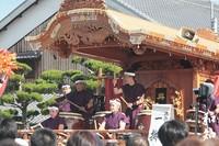 『興濱』だんじり~魚吹八幡神社~