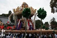 『黒崎』屋台~富嶋神社~ 2009/11/02 23:11:07