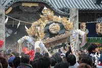『濱田南』屋台~富嶋神社~