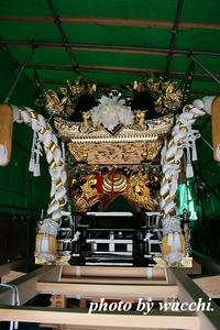 小瀬屋台完成お披露目前日・・ 2010/09/25 23:36:48