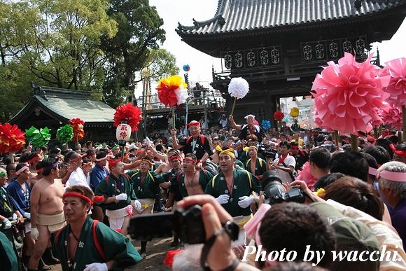 松原八幡神社平成22年度秋季例大祭(本宮)境内編