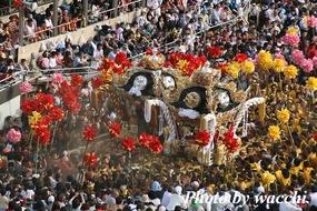 松原八幡神社平成22年度秋季例大祭(本宮)広畠編