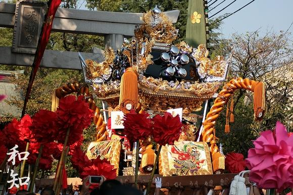 恵美酒宮平成23年度秋季例大祭(宵宮)