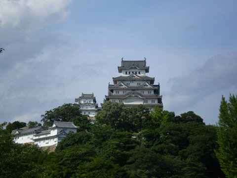 三の丸からの姫路城