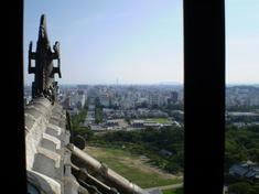 大天守からの姫路市街