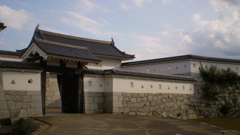赤穂城本丸前門