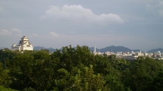お城と姫路市街