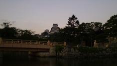 桜門橋、大手門、大天守